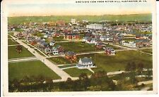 1920's A Bird's Eye View from Ritter Hill in Huntington, West Virginia PC