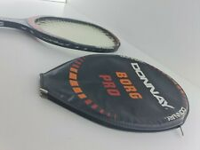 """Donnay Bjorn Borg Pro """"test"""" tennis racket with bag ultra Rare!"""