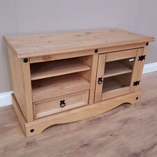 Corona Entertainment TV Video Unit Mexican Pine by Mercers Furniture®