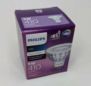 Philips LED Downlight Globe Bulb 5W 410 Lumen 12V MR16 Cool White 4000K GU5.3