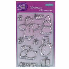 New listing Sweet Dixie A6 Clear Stamp Set - Sdcsa6091 Christmas Characters