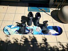 New listing GNU Metal Gnuru EC2 BTX Snowboard with Ride KX bindings and Burton HL Boa boots