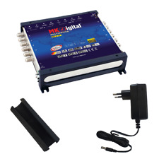 MK Digital Multischalter 9/12 mit LED Multiswitch FULL HDTV 3D 4K Sat Verteiler