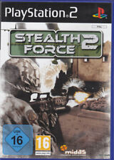 Stealth Force 2  (PS2) In Box, mit Anleitung