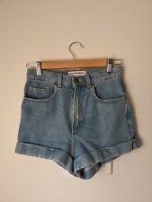 American Apparel Denim Shorts 25 High Waisted
