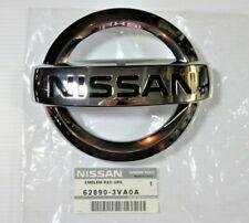 Genuine OEM Nissan 62890-3VA0A Front Chrome Grille Emblem 2014-2019 Versa Note