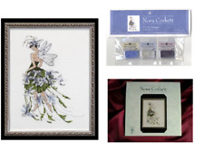 Nora Corbett Mirabilia Cross Stitch PATTERN & EMBELLISHMENT Pack JASMINE NC127