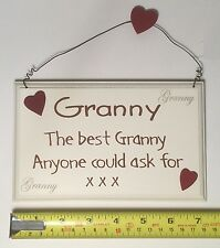 The Best Granny Wall Plaque Sign Christmas Gift Ideas for Her Grandparents