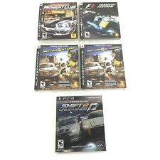 New listing PS3 Gaming Bundle: Need for Speed, Motor Storm (2), Formula 1, Midnight Club Los