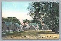 Main Street HINGHAM Massachusetts—Rare Antique Sprague Postcard Stores 1910s