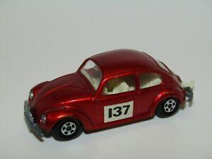 Matchbox Superfast No 15 Volkswagen 1500 Saloon 137 Labels Excellent Unboxed