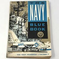 Vtg 1960 The Navy Blue Book US Navy Yearbook Vol 1 Military Publishing ATOMIC