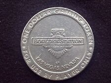 "$1 SLOT GAMING TOKEN -- BOULDER STATION HOTEL CASINO -- LAS VEGAS -- ""OBSOLETE"""