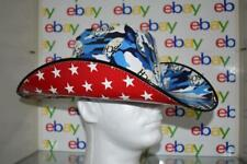 BUSCH Patriotic CAMO & STARS Cowboy/Cowgirl HAT Beer Box OSFM Anheuser Busch NEW