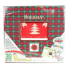 Holidays Scrapbook Album Kit 12x12 Pre-Designed Postbound Memory Book Christmas