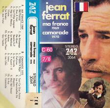 K 7 AUDIO (TAPE)  JEAN FERRAT  *MA FRANCE*  (MADE IN JAPAN)...