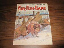 VINTAGE 1971 Fur-Fish-Game Mag DECEMBER ISSUE