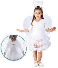 Set d'ange blanc enfant ailes auréole tutu enfant [6705] deguisement halloween