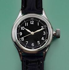Vintage Bulova 1940's Type A-11 Military US Army Hacking Watch Original Dial