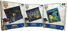Set of Three Toy Story Puzzles. 48 Pieces jigsaw puzzle