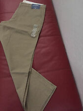 MEN'S DOCKERS BROKEN IN KHAKI PANTS  FIT STRAIGHT 36W 30L NEW SEE ALL 3 PICTURES
