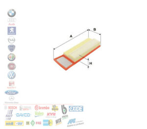 FILTRO ARIA FIAT 500 PANDA GRANDE PUNTO ALFA ROMEO MITO 1.3 D MULTIJET A199