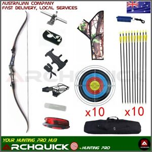 Archery Recurve Bow Set Q102 Takedown 68 Inch Target Hunting Shoot  New Package