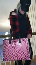 NWT KATE SPADE MORLEY TOTE EXLARGE PINK & SILVER PXRUA232 LIGHTWEIGHT CLASSY