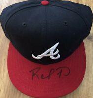 Rafael Furcal autographed signed auto Atlanta Braves New Era game model cap hat