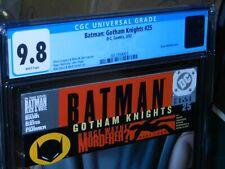 DC BATMAN: GOTHAM KNIGHTS #25 CGC 9.8 WHITE PAGES 2002 BOLLAND HIGHEST GRADE