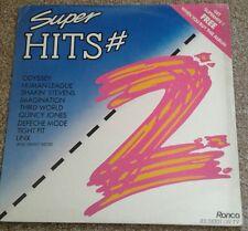 Super Hits #2 vinyl LP