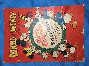 Donald and Mickey Merry-Christmas-Giveaway from Firestone (1946)