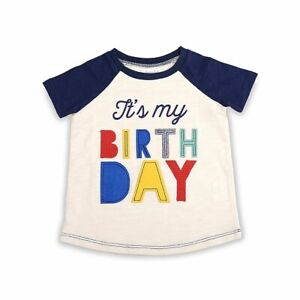 NEW Mud Pie Boys First Birthday Party Top Tee Shirt, Size 18M, NWT!