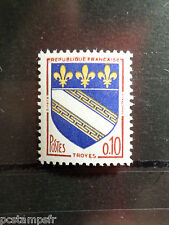 FRANCE 1962 timbre 1353, Armoiries Troyes, neuf**