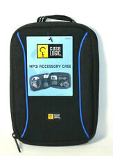 Case Logic Sleeve Neoprene Mp3 Phone Tablet Zipper Accessories Travel Bag Black