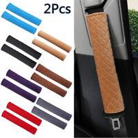 2pc Protège-épaules confortables de ceinture de sécurité de voiture avec harnais
