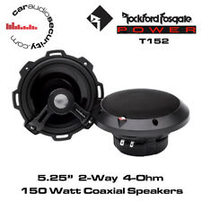 "Rockford Fosgate Power: T152 - 5.25"" 13cm 2-Way coche 120 vatios altavoces de componente"