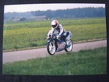 Photo Samson Sharp Honda 125 1988 #27 Hans Spaan (NED)