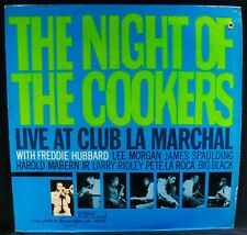 THE NIGHT OF THE COOKERS With FREDDIE HUBBARD~Jazz Album-BLUE NOTE #BST 84208