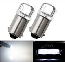 Ampoule ba9s LED t4w loupe canbus Blanc Puissante 6000K Veilleuses Autos 2pcs