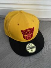 NEW ERA 59FIFTY TRANSFORMERS HAT CAP SIZE 7 3/8 58.7cm