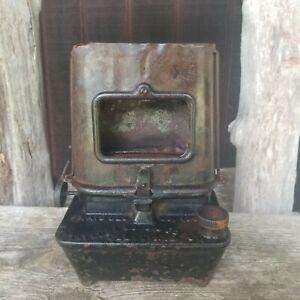 Cast Iron Summer Girl No1 Kerosene Sad Iron Heater Camp Stove 1893 Taylor Boggis