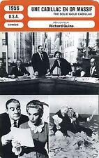 Movie Card. Fiche Cinéma. Une cadillac en or massif (USA) Richard Quine 1956