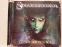 Snakeryder - Back For The Kill 2006 Z Records Rare OOP HTF