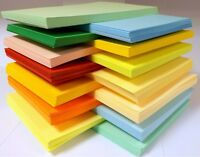 SRA3 A3 Large Sheets of Card 160gsm Smooth Vibrant Colours Choose your colour