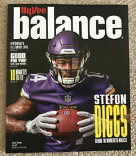 Stefon Diggs Minnesota Vikings Hyvee Balance Magazine July 2018 Miracle NFL New