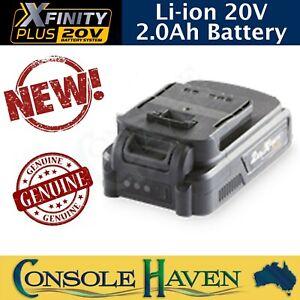 Xfinity Plus Li-ion 20V 2.0Ah Battery Ferrex Workzone Titanium Gardenline Aldi +