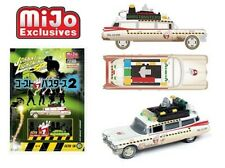 1959 Cadillac Ghostbusters Ecto 1A Retro Dirty 50th 1/64 Johnny Lightning 7204
