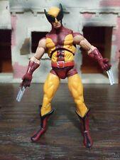 "Marvel Universe X-Men Brown Wolverine 3.75"" Action Figure Loose (6)"