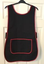 Wholesale Trade 20 Brand New Black Tabard Aprons Cafe Catering Florist Work Wear